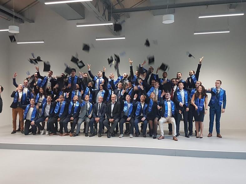 Accès à l'article Remise des diplômes aux promotions 2018 à l'ECAM Lyon