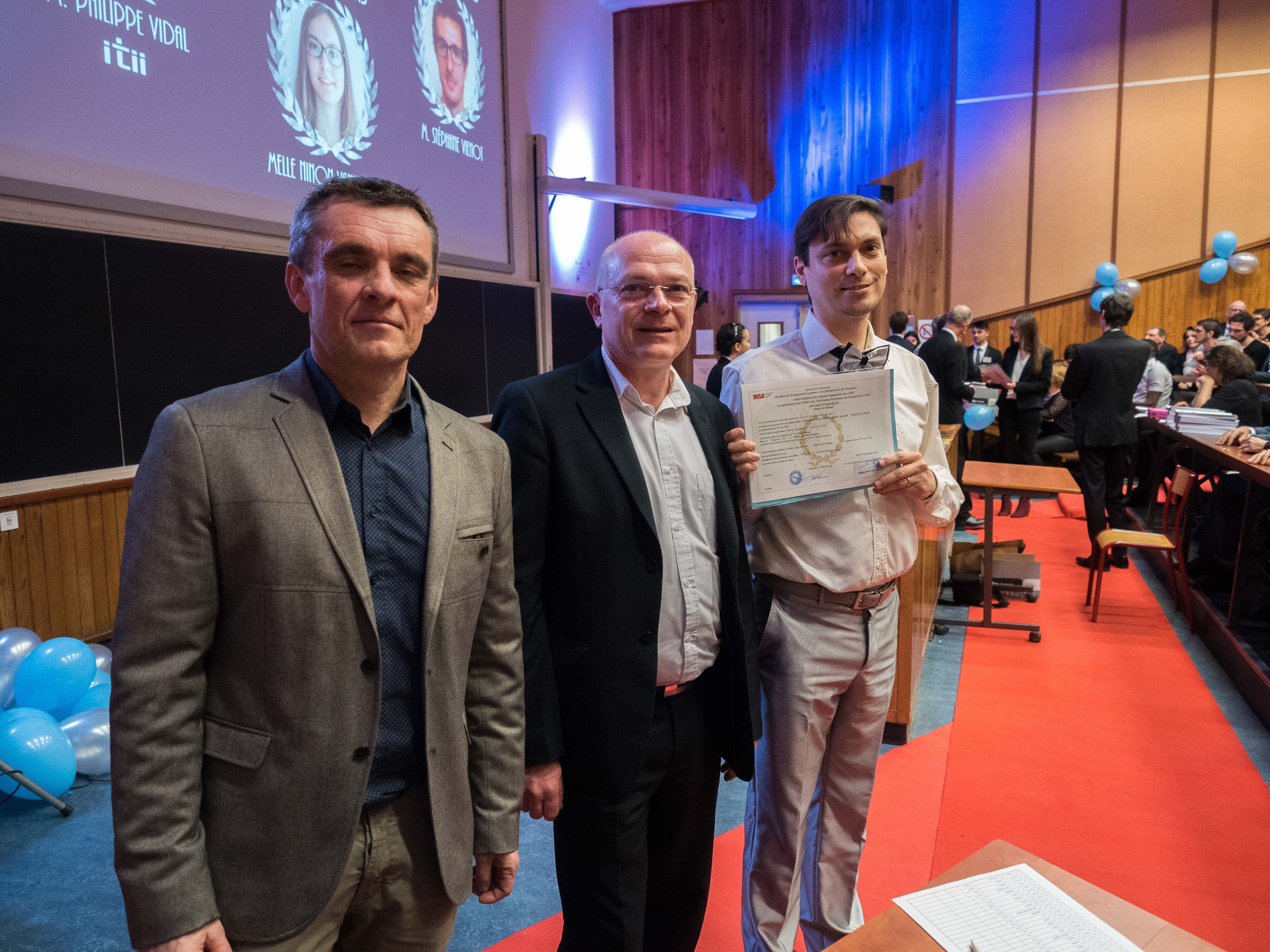 Accès à l'article Remise des diplômes à l'INSA Lyon