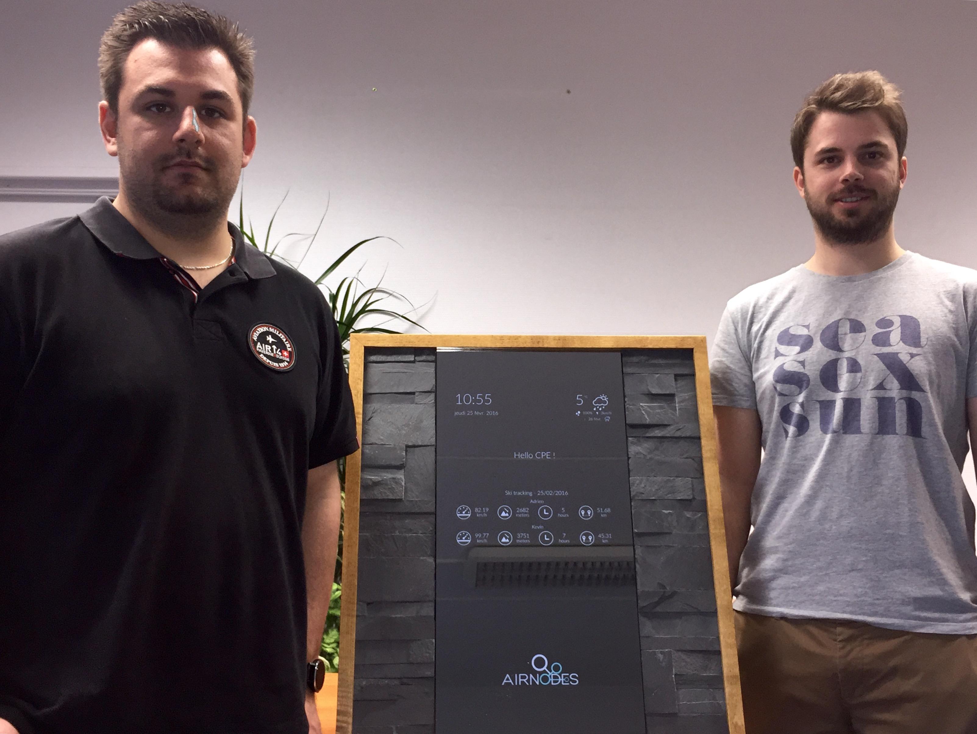 Accès à l'article Kevin et Adrien, jeunes diplômés IRC CPE Lyon et déjà entrepreneurs